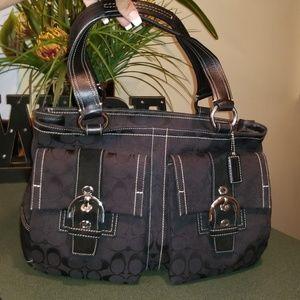 Coach #6378 Soho Signature Lg. Tote Shoulder Bag